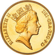[488727] Coin Great Britain Elizabeth Ii 2 Pounds 1985 Ms Gold Km944