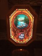 Vintage Old Style Beer Motion Lighted Sign Mint New Old Stock