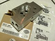 Harley Xr750 Oil Pump Body 26217-88r And Shaft And Plug Oem Nos Free Usa Shipping