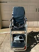 Ems Ambulance Collapsible Stretcher Cot Gurney Chair Bed Cart With Car Mounts