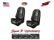 Sport R Front And Rear Seat Upholstery And Foam 1999-2004 Mustang Coupe