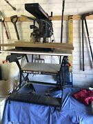 Ryobi 210mm Radial Arm Saw Used In Vgc Please See Photos