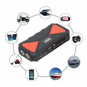 Multi Function Car Jump Starter Battery Booster Power Bank Usb Charger 12000mah