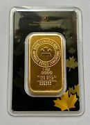 1 Oz Gold Bar - Royal Canadian Mint Old Style, Sealed In Assay Card 339565
