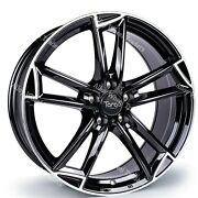 20 Black Tg3 Alloy Wheels Fits Bmw 8 Series E31 Coupe Old Skool Wider Rear