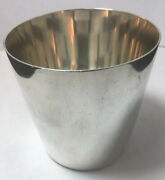 Sterling Silver Mint Julep Cup 24012 No Monograms - 2 Small Dings