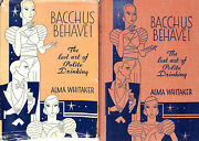 Bacchus Behave The Lost Art Of Polite Drinking 1933
