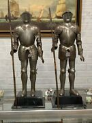 Extremely Rare Pair Of Miniature Armor Full Plate