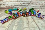Lot Of 35+ Magnetic Thomas The Train Diecast And Wooden Models And Accessories