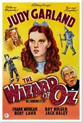 The Wizard Of Oz Judy Garland Vintage Movie Poster Reproduction