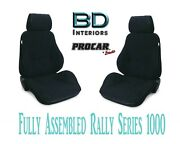 Full Seats 80-1000-61 Reclining Black Velour For 1997 - 2004 Ford Crown Victoria