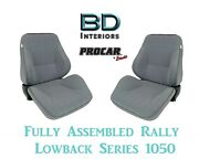 Full Seats 80-1050-58 Lowback Gray Velour Seats For 1997 - 2004 Crown Victoria