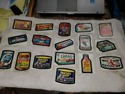 1974 Series 10 Wacky Packages 17 Of Original Set All Stickers On Backing