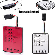 Surpass-hobby Led Programming Card For Rc Car Esc Electronic Speed Controller Ip