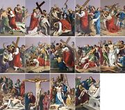 20 X 30 Metal Plate Traditional Outdoor Indoor Stations Of The Cross