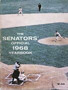 1968 Washington Senators Yearbook Autographed On Their Pages By 27. Great Item