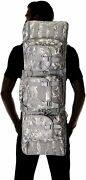 Double Rifle Case For 2 Guns Hunting Shooter Backpack Digital Camo Pack Carrier