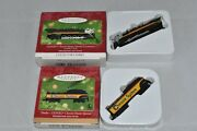 Hallmark 2001 Lionel Chessie Steam Special Locomotive And Tender, W/boxes, Lot Of