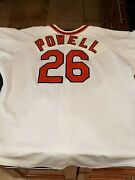 Boog Powell Game Worn Uniform From 1989 Orioles Old Timers Game Hardin Estate