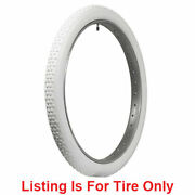 Coker Classic Button Tread Motorcycle 24x2 1/4. All Wht Quantity Of 4
