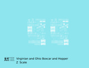 K4 Z Decals Virginian And Ohio Boxcar And Hopper White
