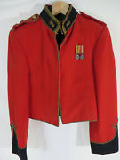 Tunic Named To Rca Major. With Vest And 2 Miniature Medals