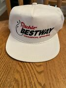 Vintage Ritchie Bestway Commerical Sprayers Leather Strap K Products White Hat