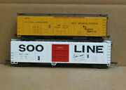 Athearn Ho 57and039 Soo Line Plug Door And Fruit Growers Express 50and039 Reefer