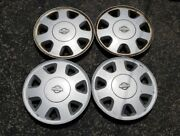 Set Of 4 Oem 1989-1998 Nissan 240sx Silvia 15 Hubcaps Wheel Covers 40315-65f10