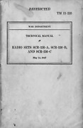 85 Page May 1943 Tm 11-235 Radio Sets Bc-611 Scr-536 -a - To -c Manual On Cd
