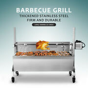 Fully Automatically Electric Bbq Rotating Charcoal Grill Thickened Firm New
