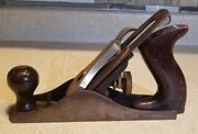 Antique Stanley Bailey No.3 Smooth Plane Type 19 Old Woodworking Tools Excellent