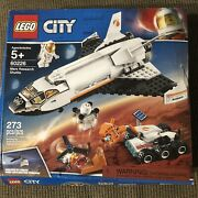 New Lego City Space Mars Research Shuttle 60226 Space Shuttle Damaged Box