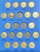 Coins From Page 2 Of 1913-1938 Buffalo Nickel Folder