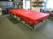 Sun Tracker Bass Buggy 16 37087-22 Pontoon Cover Red 16and039-17and039 200 X 109 Boat