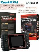 New For Toyota Professional Multi System Diagnostic Scan Tool Icarsoft Jp V2.0