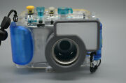 Canon Powershot Sd630 Is Digital Elph Camera And Wp-dc3 Waterproof Case