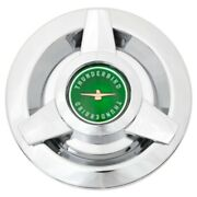 Coker Ford Thunderbird Green Cap For Wire Wheels 6 Back Id