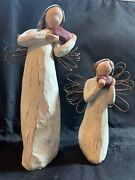 Willow Tree Angel Of The Heart Figurines Large And Small Angels