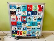 Airline Food Cart, Airplane Beverage Cart, Wine Cart, Airport City Codes