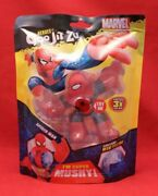 Marvel Heroes Of Goo Jit Zu Spiderman Stretches 3 Times Its Size Super Mushy Toy