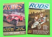 2 Diff Nov 1959 And Jan 1960 Rods Illustrated Magazine Small Version 140-pgs Vg+++