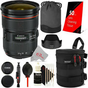 Canon Ef 24-70mm F/2.8l Ii Usm Lens With Essential Kit