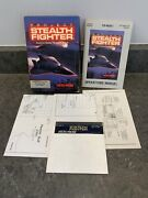 Project Stealth Fighter Commodore 64 C64 Video Game Floppy Disc Complete In Box