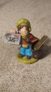 Vintage Job Cigarette Rolling Papers Advertising Figure Paperboy Character Doll