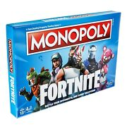 Fortnite Monopoly Board Game Edition Ages 13+