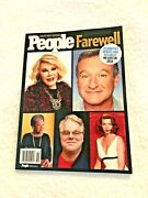 People Magazine. Farewell Celebrities, Heros And Notables  2015.  Brand New