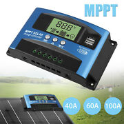 20/30/60/100a Solar Panel Regulator Charge Controller 12/24v Auto Focus Tracking