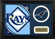 Encore Select 12x18 Mini Jersey Patch Frame - Tampa Bay Rays