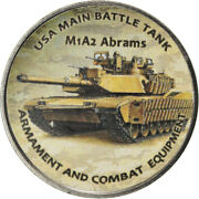 [784664] Coin Zimbabwe Shilling 2018 Tanks - M1a2 Abrams Ms Nickel Plated